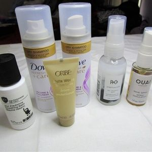 Hair Care Assortment - 6 Travel Size